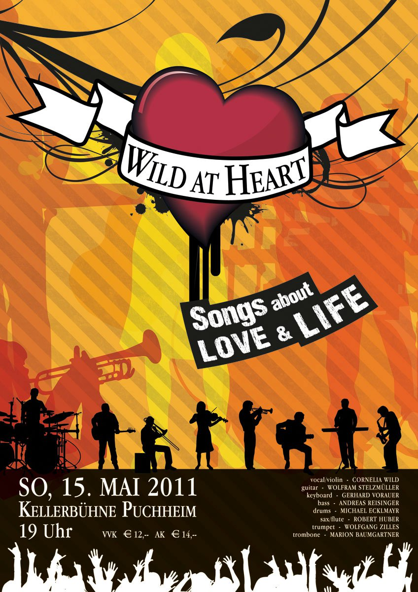 Konzertplakat Kellerbühne Puchheim 2011