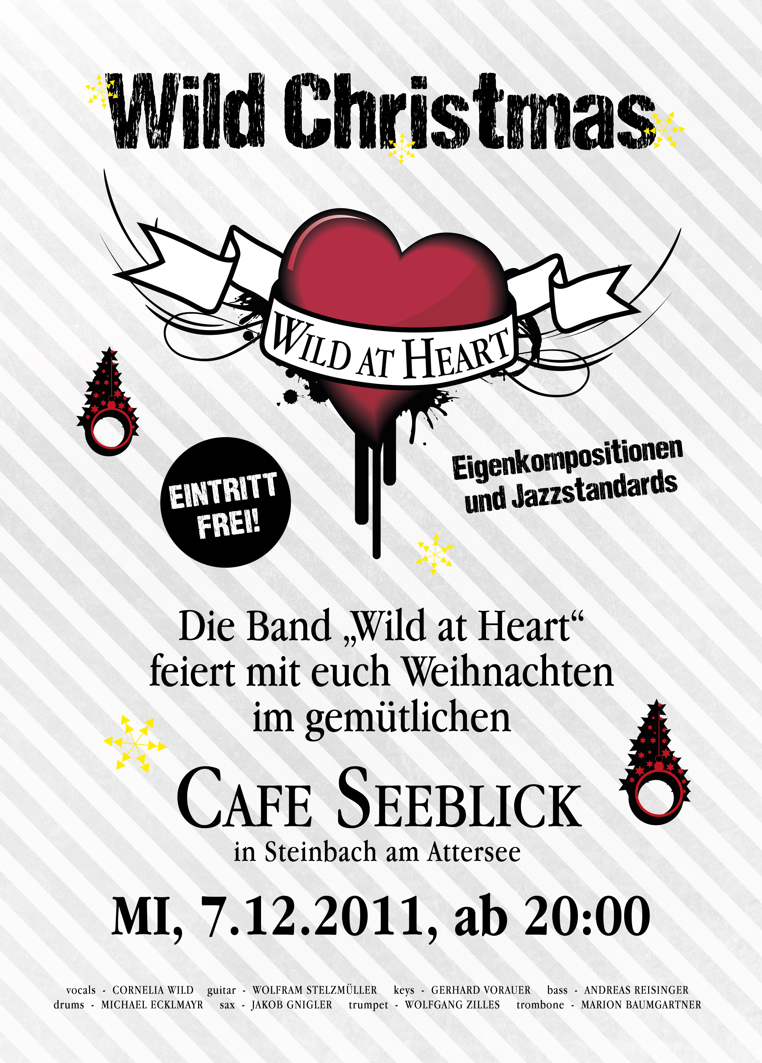 Wild Christmas im Cafe Seeblick